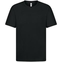Textil Homem T-Shirt mangas curtas Casual Classics  Preto