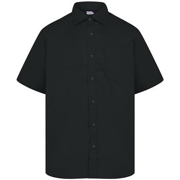 Textil Homem Camisas mangas curtas Absolute Apparel  Preto