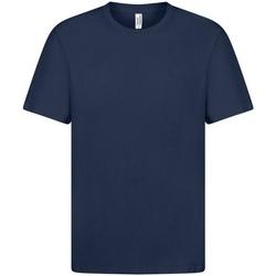 Textil Homem T-Shirt mangas curtas Casual Classics  Marinha