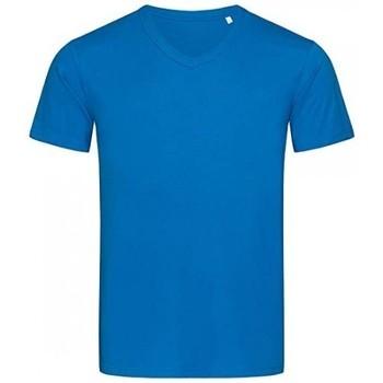 Textil Homem T-Shirt mangas curtas Stedman Stars  Rei Azul