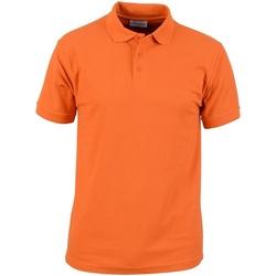 Textil Homem Polos mangas curta Absolute Apparel  Orange