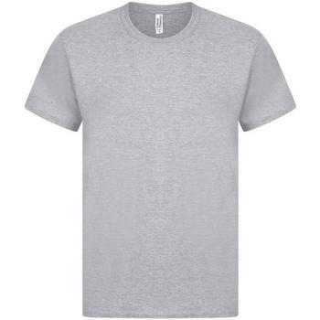 Textil Homem T-Shirt mangas curtas Casual Classics  Heather Grey