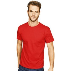 Textil Homem T-Shirt mangas curtas Casual Classics  Vermelho