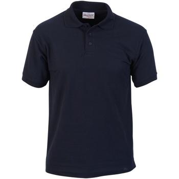 Textil Homem Polos mangas curta Absolute Apparel  Marinha