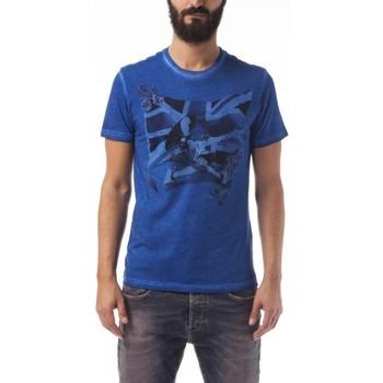 Textil Homem T-Shirt mangas curtas Gas T-Shirt Scuba/s Bass Azul