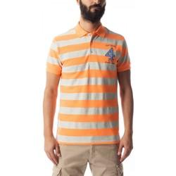 Textil Homem Polos mangas curta Gas Polo Ralph Stripe Multicolor