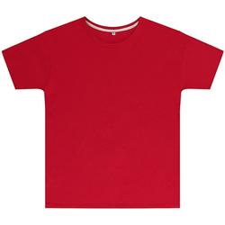 Textil Criança T-Shirt mangas curtas Sg SGTEEK Vermelho