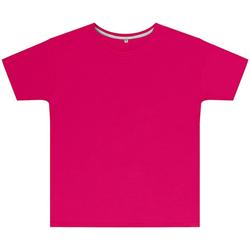 Textil Criança T-Shirt mangas curtas Sg SGTEEK Rosa Escuro