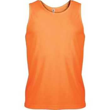 Textil Homem Tops sem mangas Proact Débardeur  Sport orange