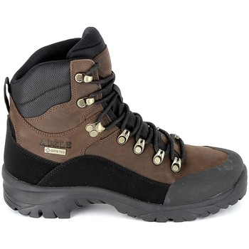 Sapatos Sapatos de caminhada Aigle Sarenne Mid GTX Marron Castanho