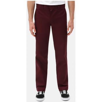 Textil Homem Chinos Dickies S/stght work pant Bordô