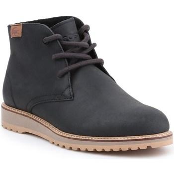 Sapatos Mulher Botas baixas Lacoste Manette Preto