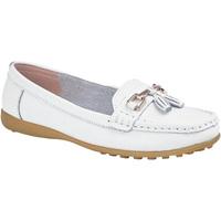 Sapatos Mulher Mocassins Boulevard  Branco