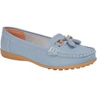 Sapatos Mulher Mocassins Boulevard  Baby Blue