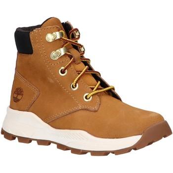 Sapatos Criança Botas baixas Timberland A28EC BROOKLYN Beige