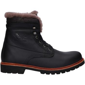 Sapatos Homem Botas baixas Panama Jack P03 AVIATOR IGLOO C11 Negro
