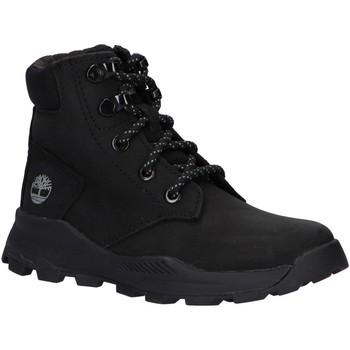 Sapatos Criança Botas baixas Timberland A28EN BROOKLYN Negro