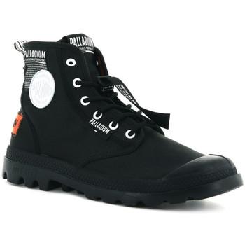 Sapatos Homem Sapatilhas de cano-alto Palladium Lite overlab u Preto