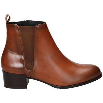 Sapatos Mulher Botins Alma De Candela BOTINES  522 SEÑORA CUERO Marron