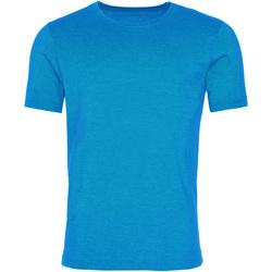 Textil Homem T-Shirt mangas curtas Awdis JT099 Saphire Blue lavado
