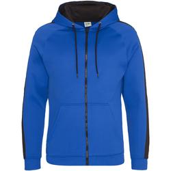 Textil Homem Sweats Awdis JH066 Royal Blue/Jet Black