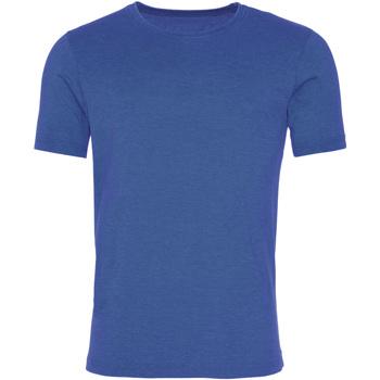 Textil Homem T-Shirt mangas curtas Awdis JT099 Royal Blue lavado