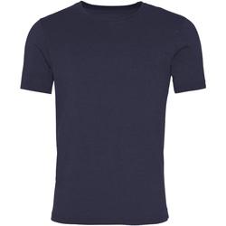 Textil Homem T-Shirt mangas curtas Awdis JT099 Nova Marinha francesa lavada