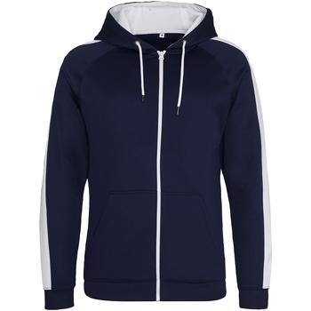 Textil Homem Sweats Awdis JH066 Oxford Navy/Arctic White