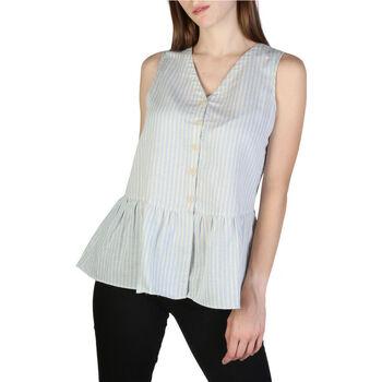 Textil Mulher Tops / Blusas EAX - 3zyh47yncmz Azul
