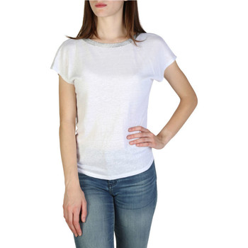 Textil Mulher T-Shirt mangas curtas EAX - 3zymaryjk6z Branco