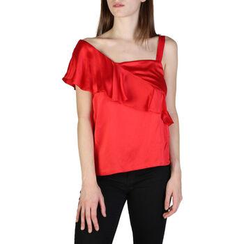 Textil Mulher Tops / Blusas EAX - 3zyh35ynbtz Vermelho