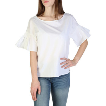 Textil Mulher Tops / Blusas EAX - 3zyh09ynp9z Branco