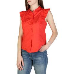 Textil Mulher camisas EAX - 3zyc08ynp9z Vermelho