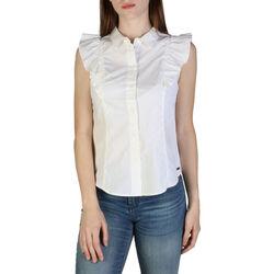 Textil Mulher camisas EAX - 3zyc08ynp9z Branco