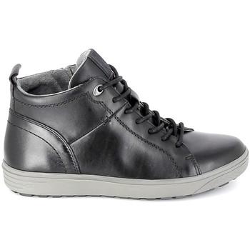 Sapatos Homem Sapatilhas de cano-alto Jana Sneaker 25202 Noir Preto
