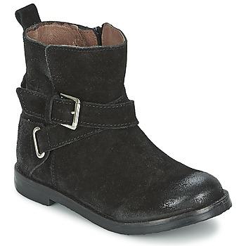 Sapatos Rapariga Botas baixas Aster NINON Preto