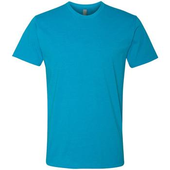 Textil Homem T-Shirt mangas curtas Next Level NX6210 Turquesa