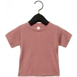 Textil Criança T-Shirt mangas curtas Canvas CA3413T Mauve Triblend