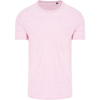 Textil Homem T-Shirt mangas curtas Awdis JT032 Surf Rosa