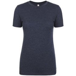 Textil Mulher T-Shirt mangas curtas Next Level NX6710 Marinha Vintage