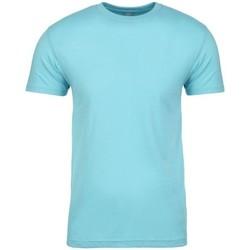 Textil T-Shirt mangas curtas Next Level NX3600 Tahiti Blue