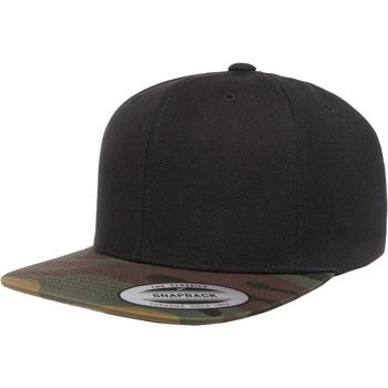 Acessórios Boné Flexfit YP089 Camo preto/verde