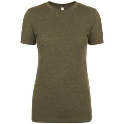 Textil Mulher T-Shirt mangas curtas Next Level NX6710 Verde Militar
