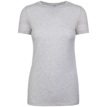 Textil Mulher T-Shirt mangas curtas Next Level NX6710 Heather White