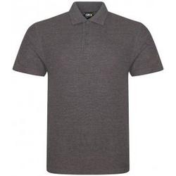 Textil Homem Polos mangas curta Prortx RX101 Carvão vegetal