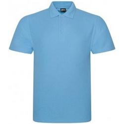Textil Homem Polos mangas curta Prortx RX101 Azul Céu