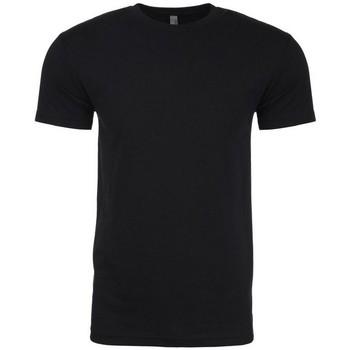 Textil Homem T-Shirt mangas curtas Next Level NX6210 Preto