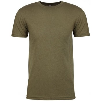 Textil Homem T-Shirt mangas curtas Next Level NX6210 Verde Militar