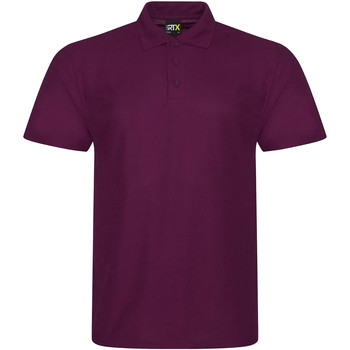 Textil Homem Polos mangas curta Prortx RX101 Borgonha