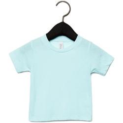 Textil Criança T-Shirt mangas curtas Canvas CA3413T Ice Blue Triblend